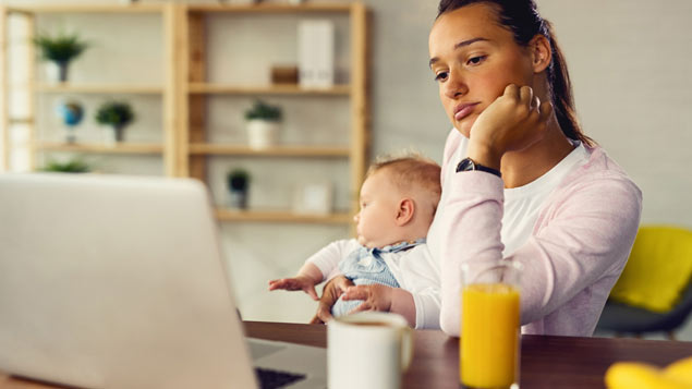 UK women least optimistic about impact of parenthood on career